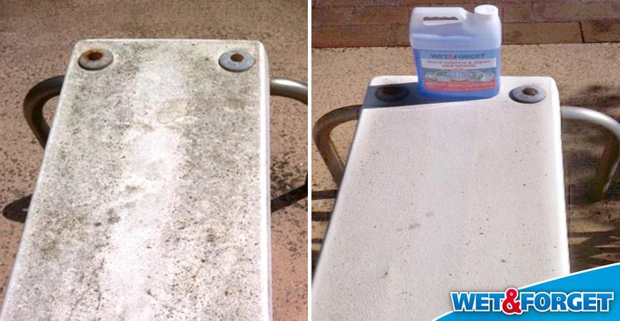 how to clean vinyl boat seats of mildew