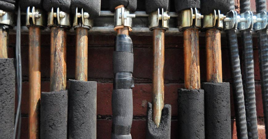 Ask wet forget tips on protecting plumbing pipes from for Best pipes for plumbing