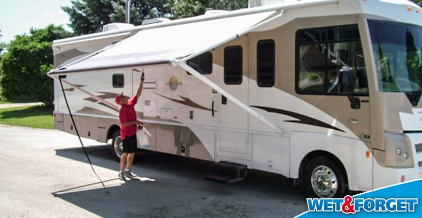 Clean And Protect Fiberglass Travel Trailer