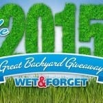 It's Back! Enter to Win the Wet & Forget Great Backyard Giveaway