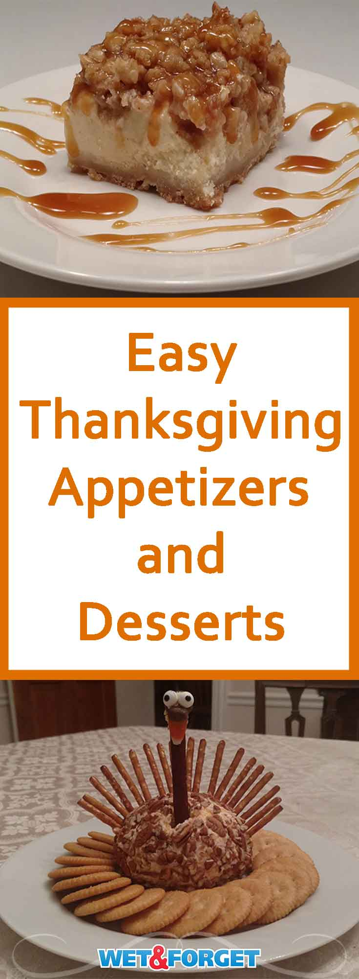 Whip up these easy appetizers or desserts for your Thanksgiving meal!