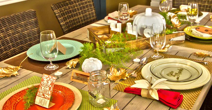Ask wet forget 6 easy place settings for your for Easy table settings for thanksgiving
