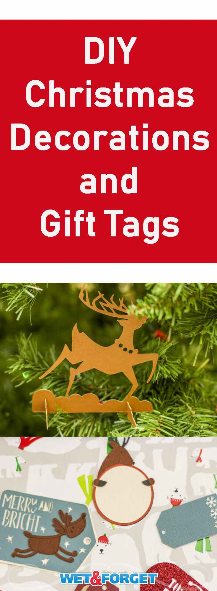 Finish your gift wrapping and decorating with these easy DIY paper decorations and gift tags!