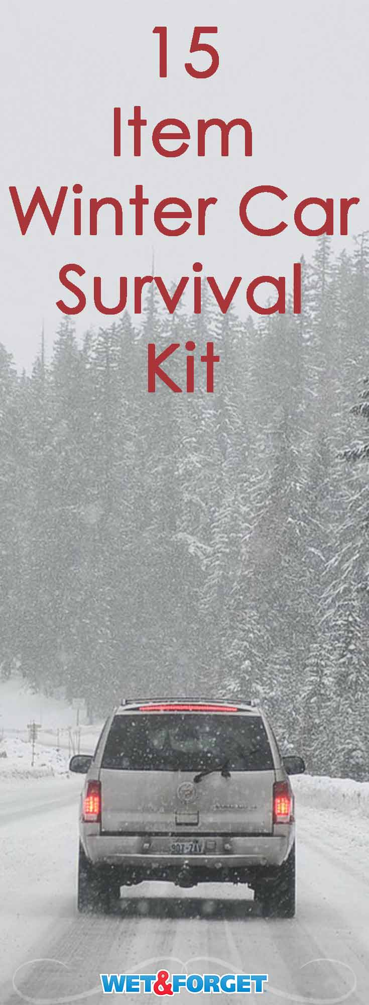 15 items you need for a winter car survival kit