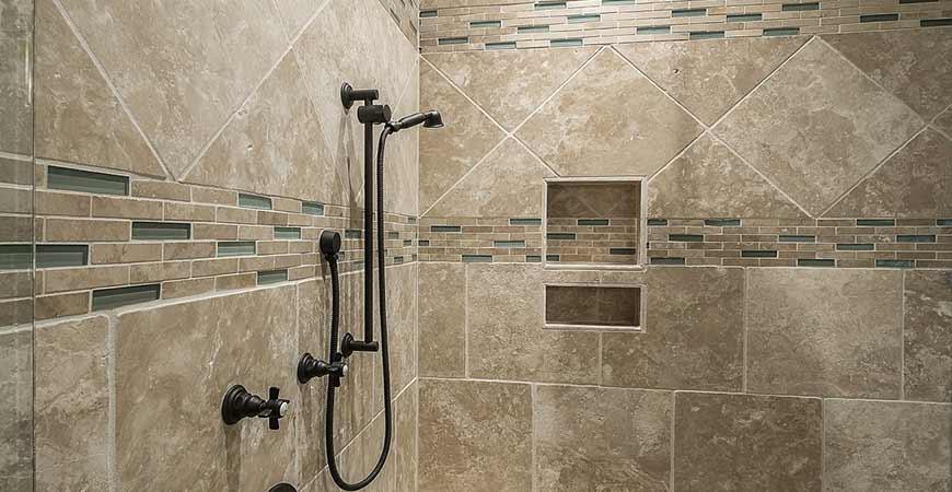 Soap scum free shower walls