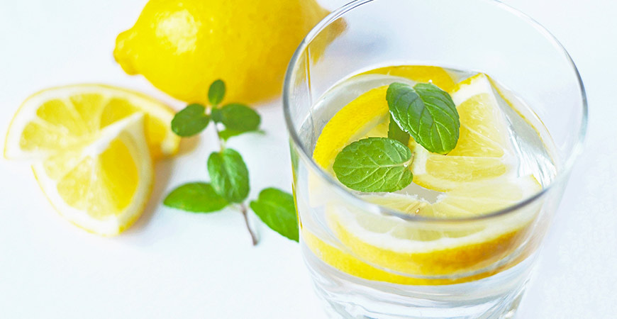 Your lemonade will be extra refreshing if you add fresh mint.
