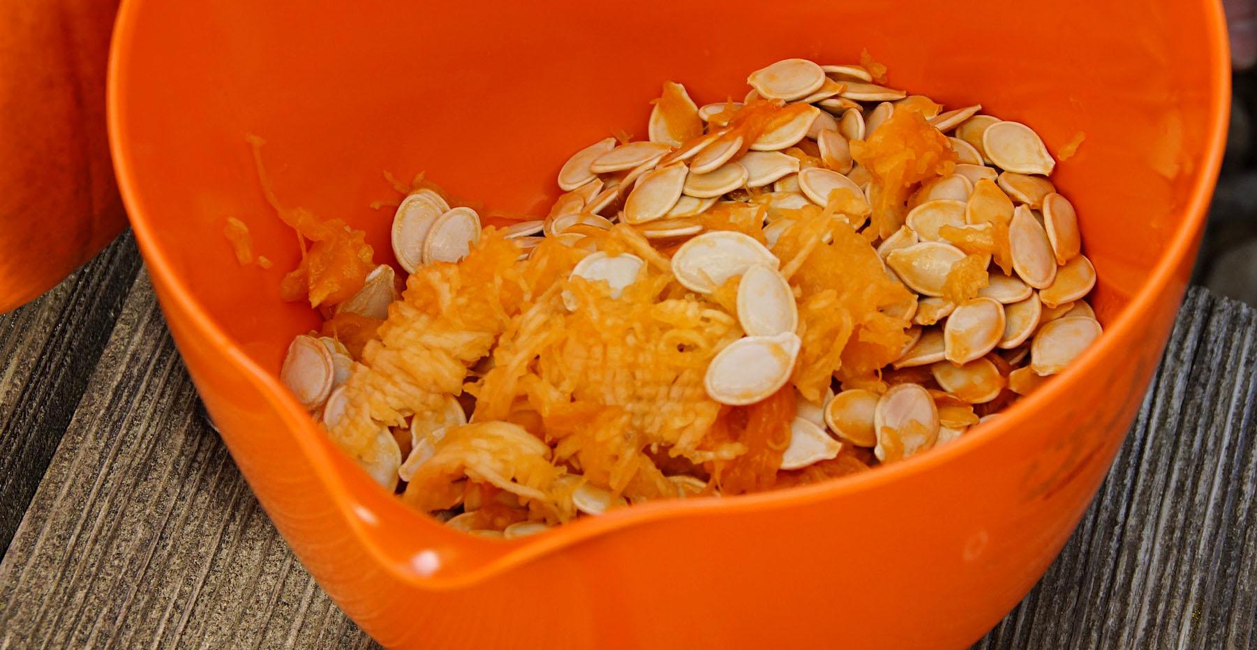 store pumpkin seeds