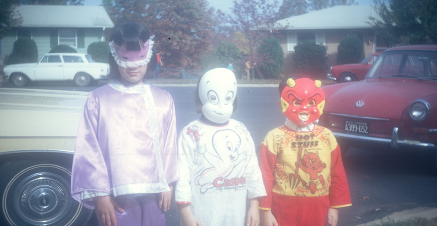 casper the friendly ghost and other costumes from the 1970s