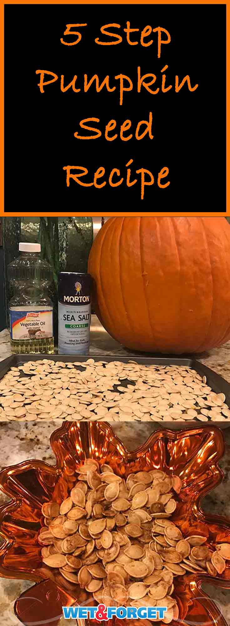 Need a quick and easy pumpkin seed recipe? Use our favorite recipe for making perfectly roasted pumpkin seeds!