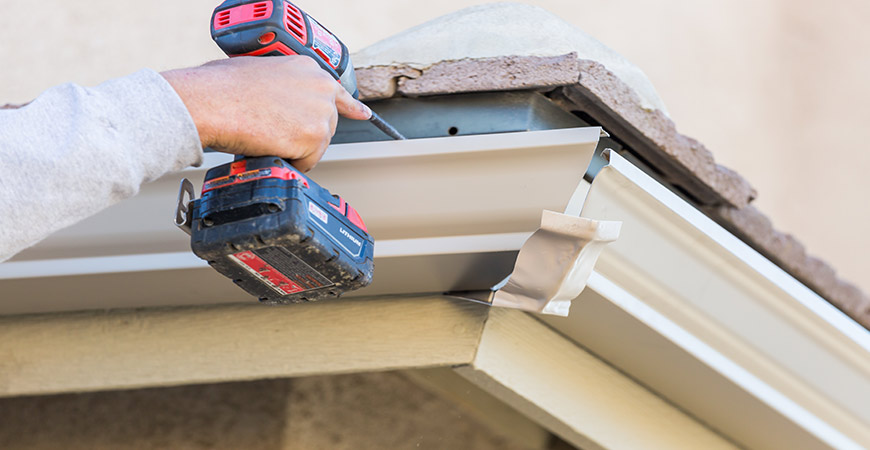 Use these tips to help install your rain gutters.