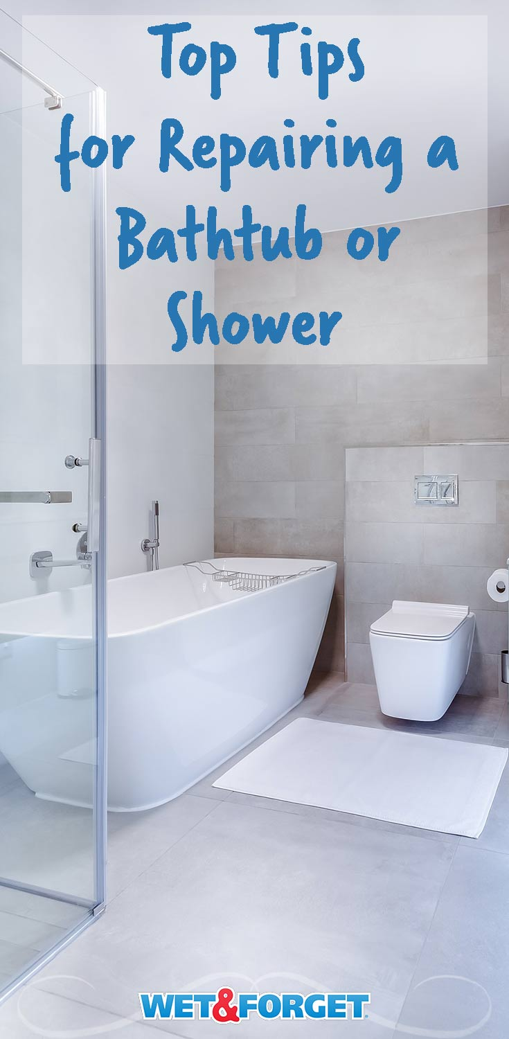 Ask Wet & Forget How to Work a Bathtub or Shower Repair Kit Like a ...