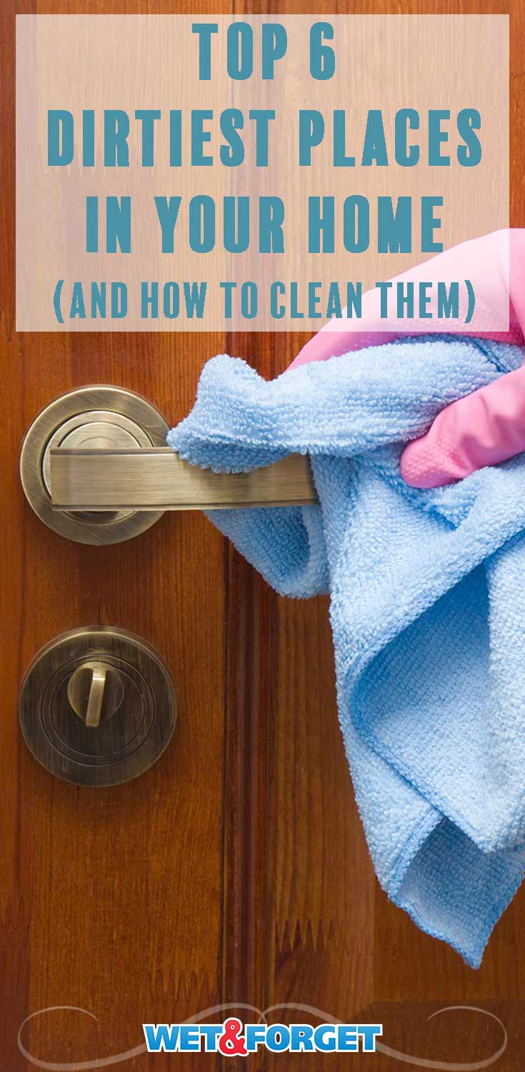 These frequently forgotten spaces and places can build-up dirt, grime and more easily! Learn how to clean them with these methods.