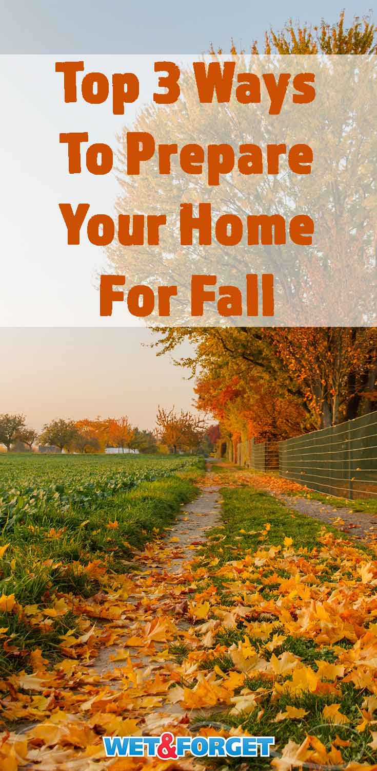 Fall is officially here! Make sure you prep your home for the season with these tips!