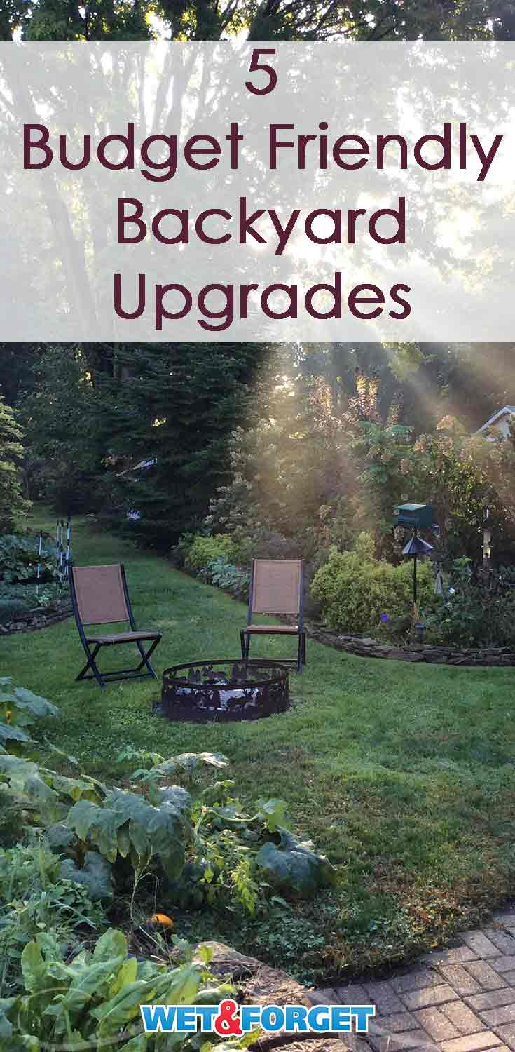 Upgrade your backyard with these unique budget friendly ideas!