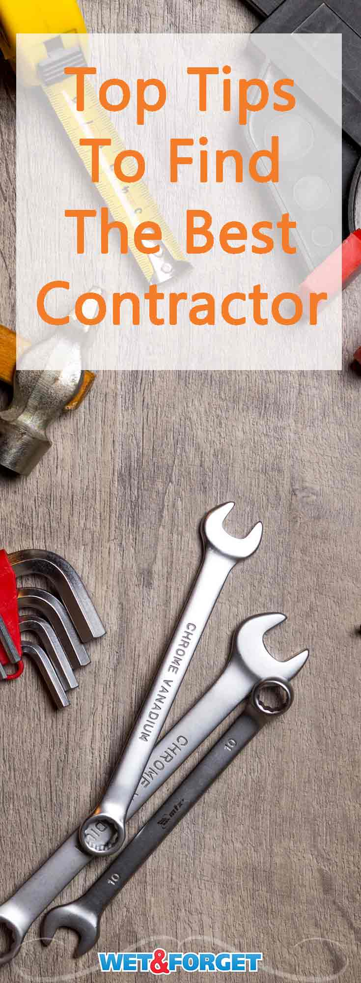 Finding the right contractor for your next home improvement project isn't always the easiest. These top tips will help you find the best contractor for your home.