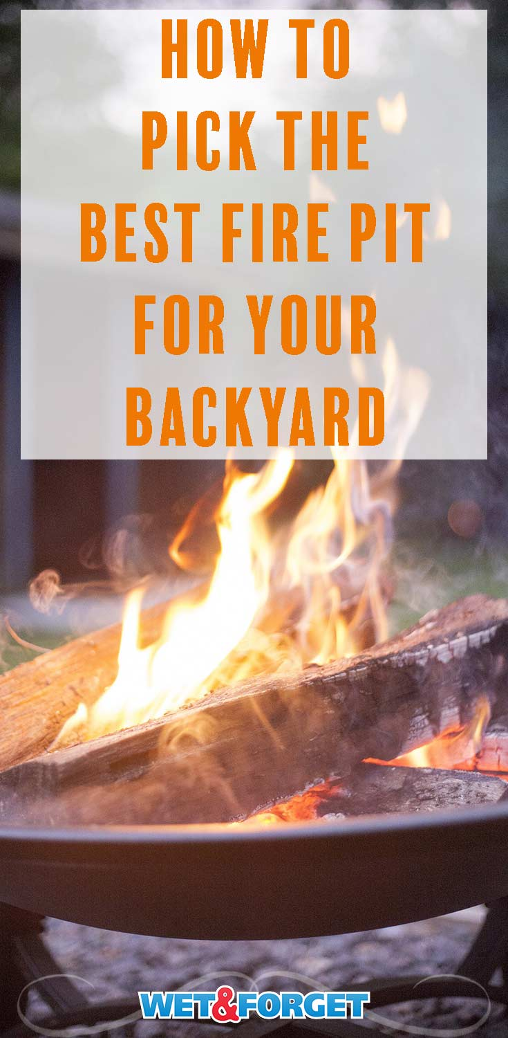 Sitting by a fire pit watching the stars is one of the highlights of summer. Use our guide to select the best fire pit option for your backyard!