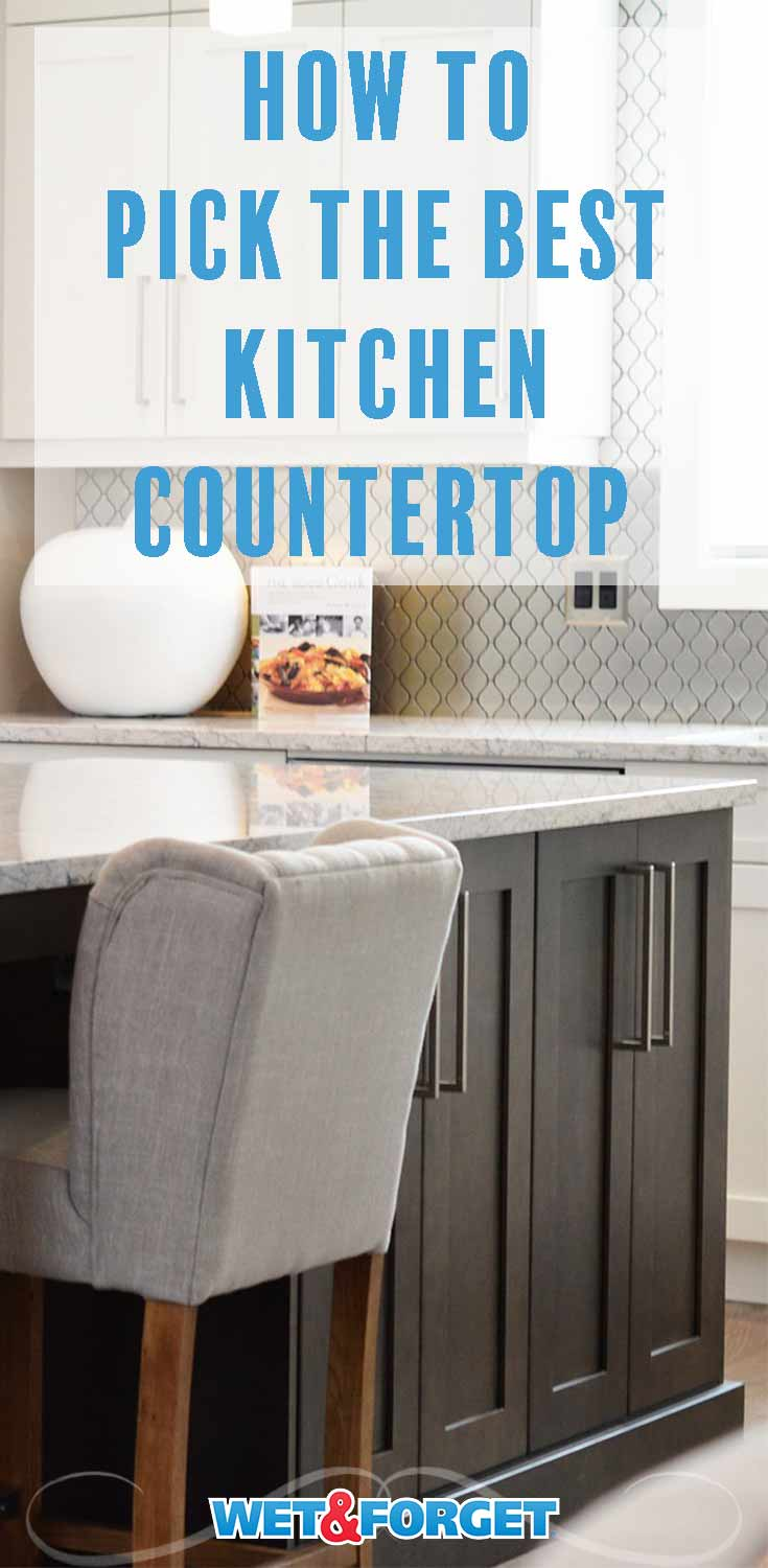 Thinking of installing a new countertop? Use our pointers to pick the best one for the style of your kitchen!