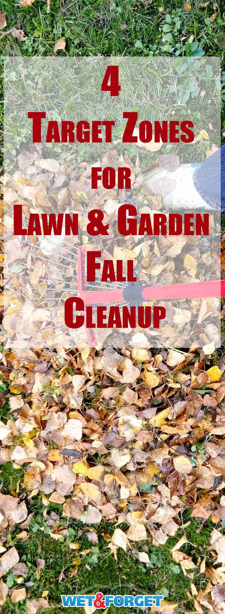 As the days become shorter and the leaves change colors it's time to start your fall clean up. A good fall cleanup will give you a head start in making your lawn and garden the best they can be.