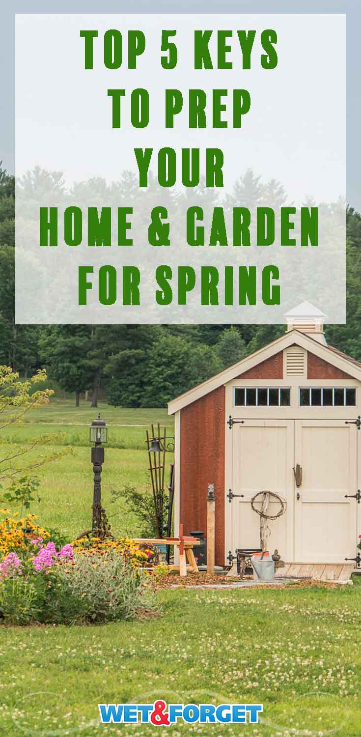Follow these top tips to prepare your home and garden for the upcoming spring!
