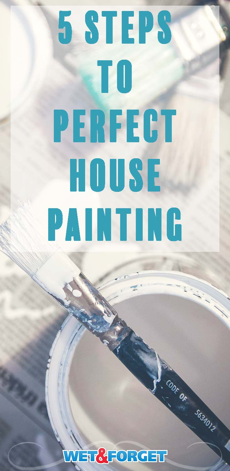 Use this easy 5 step process to freshen up your home with a new coat of paint!