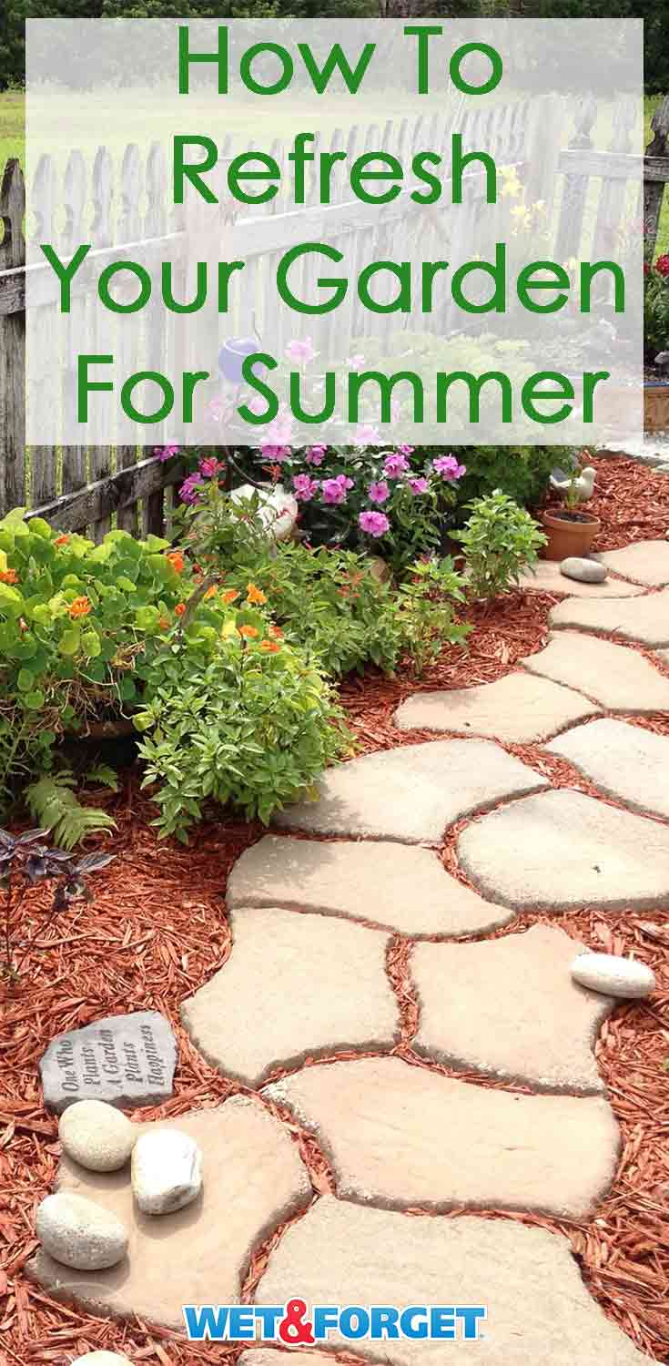Give your garden a fresh look for summer with these clever ideas!