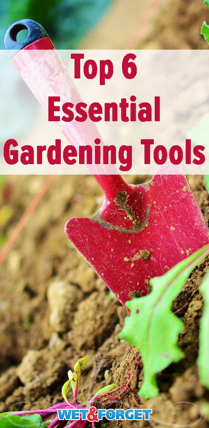Get ready for spring by making sure you have these 6 gardening tools!