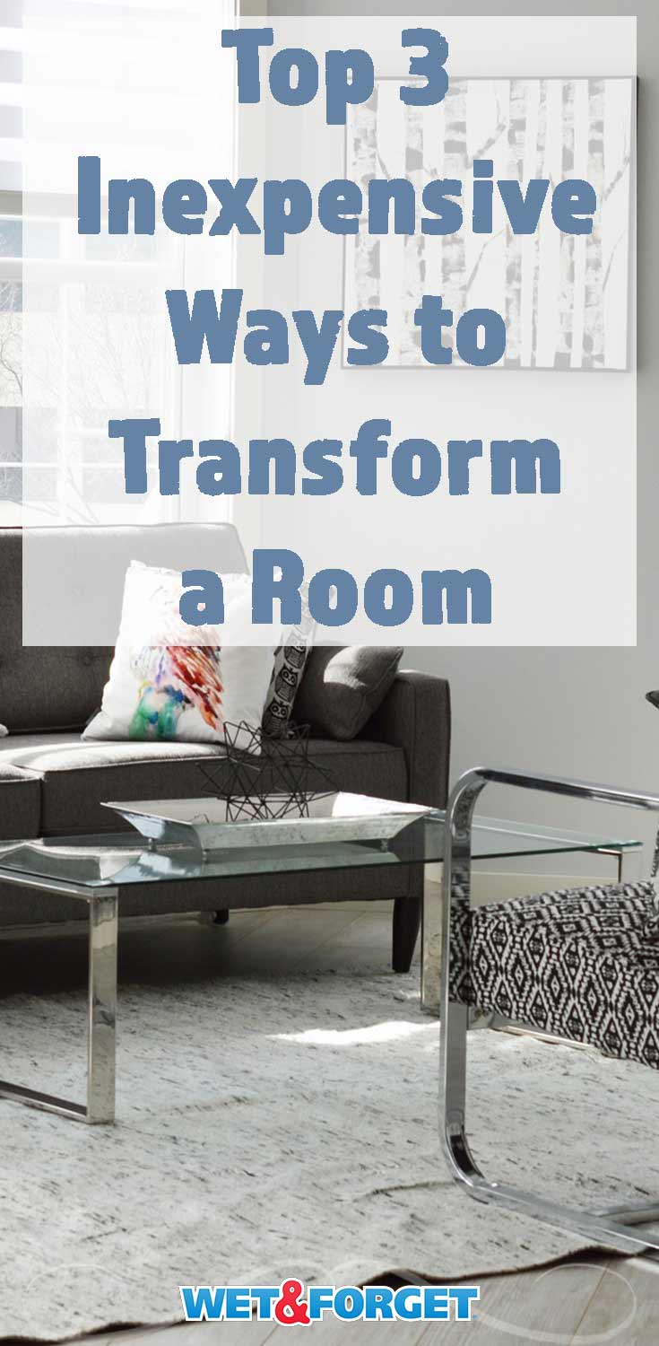 Refresh your home by transforming a room with these three methods!
