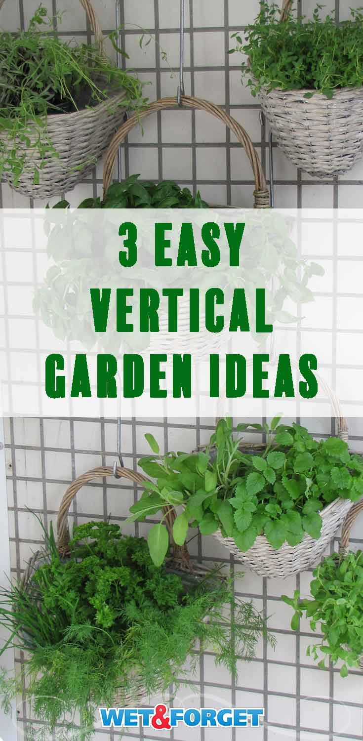 Stuck with a small backyard? Don't fret! These vertical garden ideas a the perfect space savers!