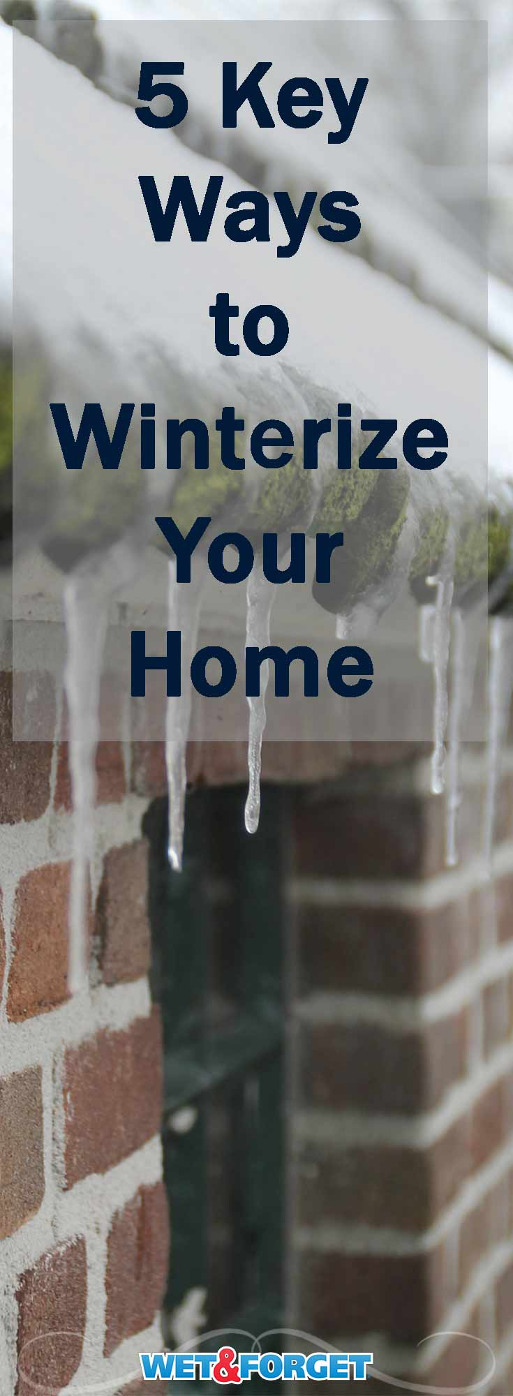 Winterize your home before the bitter cold temperatures roll in! These keys will keep your home warm and toasty throughout the season.