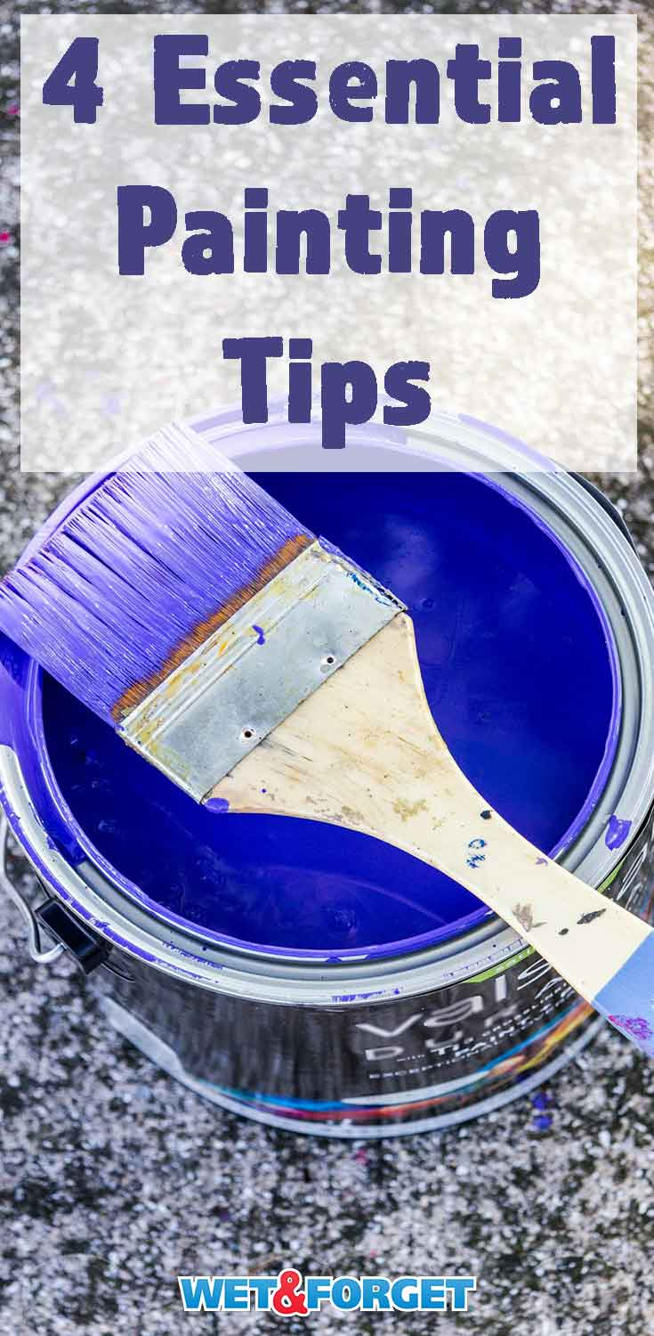 Painting your house can be more difficult than it seems! Be sure to read these 4 essential tips before picking up your brush.