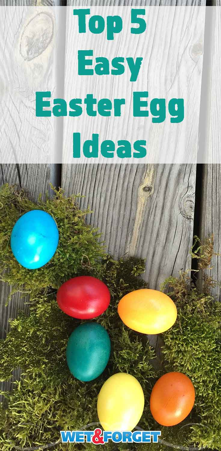 Easter is quickly approaching! Try out one of these easy Easter egg decorating ideas!