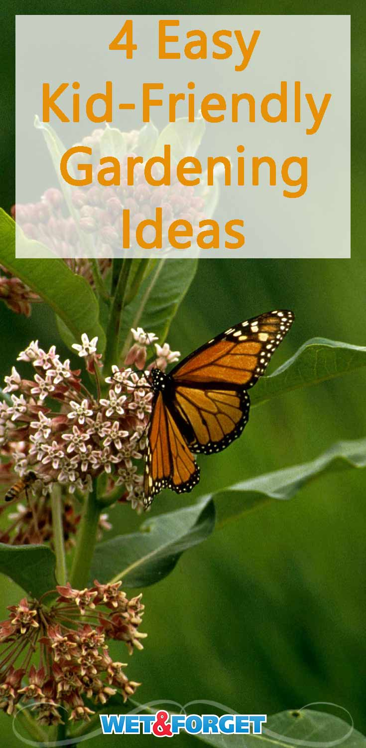 Spend more time gardening with your kids this summer with these clever ideas!