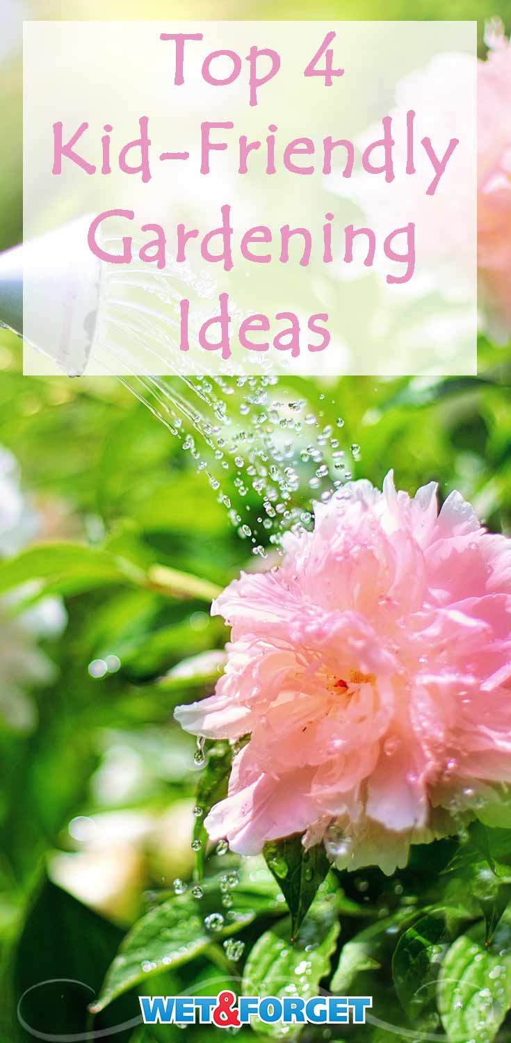 Get your kids involved in the garden this year with these creative ideas!