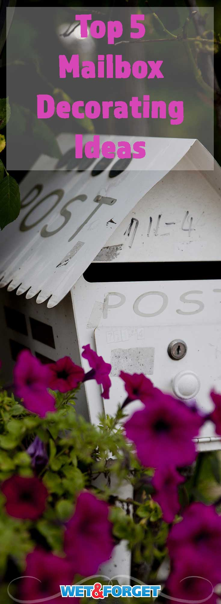 Boost your curb appeal with these 5 mailbox decorating ideas!