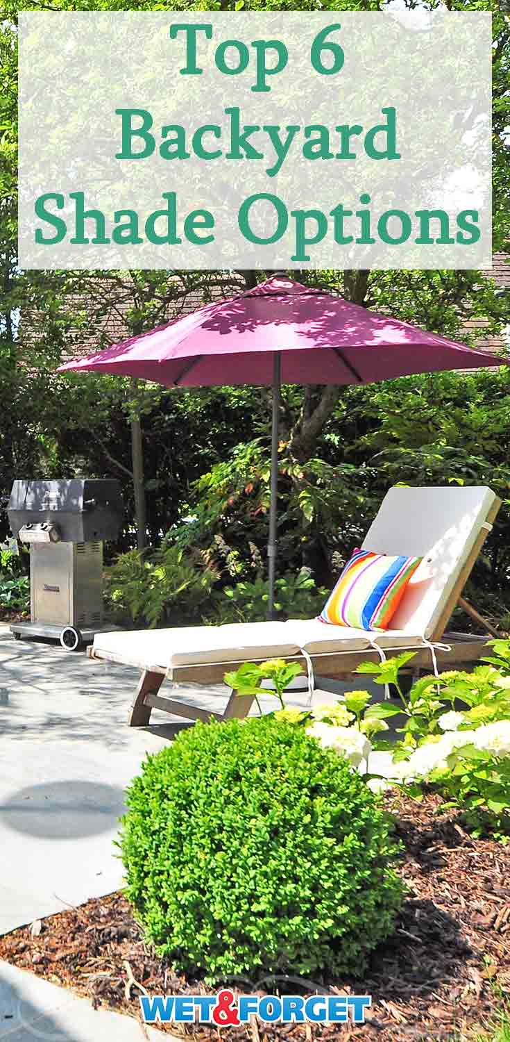 Stay cool this summer with these shade options for your backyard!