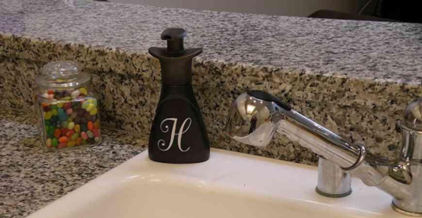 creative soap dispenser