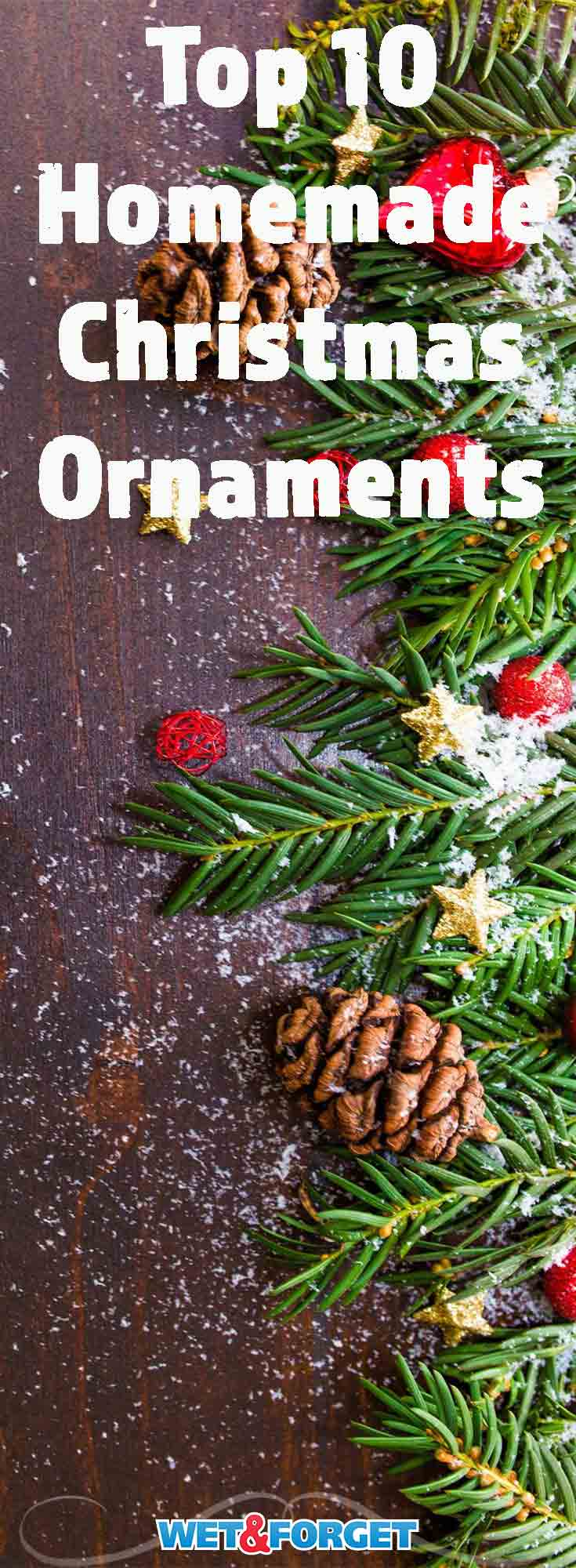 DIY ornaments are an easy way to get the kids involved with decorating for the holidays! These ornaments also make great holiday gifts for friends and family.