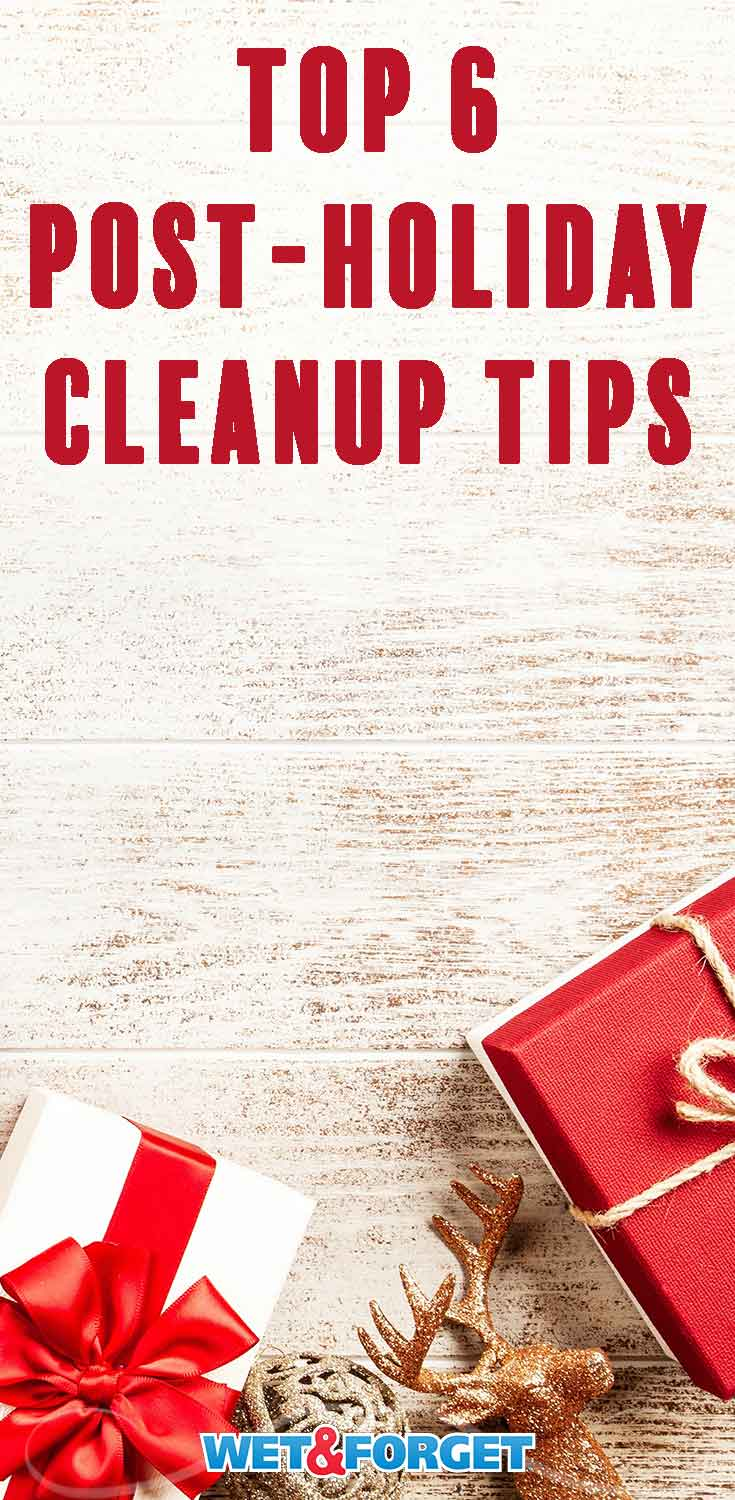 Don't get stressed about cleaning up after the holidays this year! Follow our quick tips and tricks to make holiday clean up a cinch.