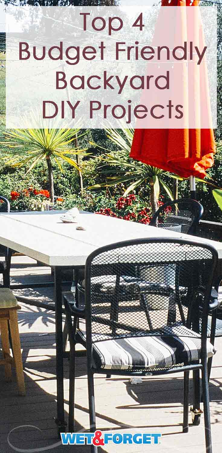 Refresh your backyard by completing one of these easy DIY projects!