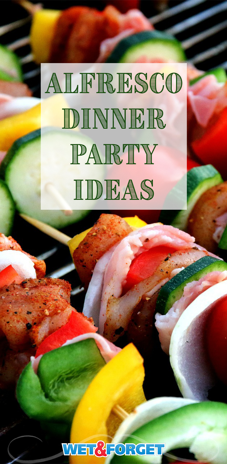 End the summer with the perfect party. Check out this Alfresco dinner party guide.