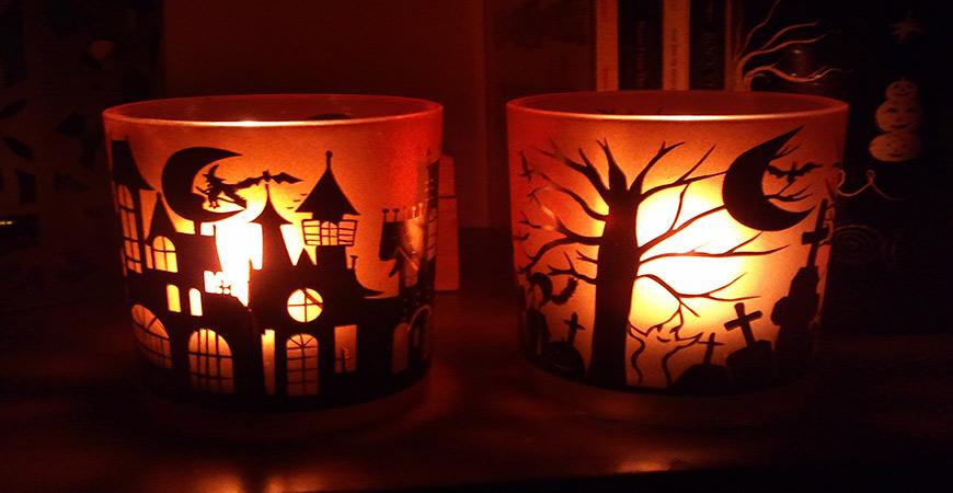 Light Up Halloween Decorations