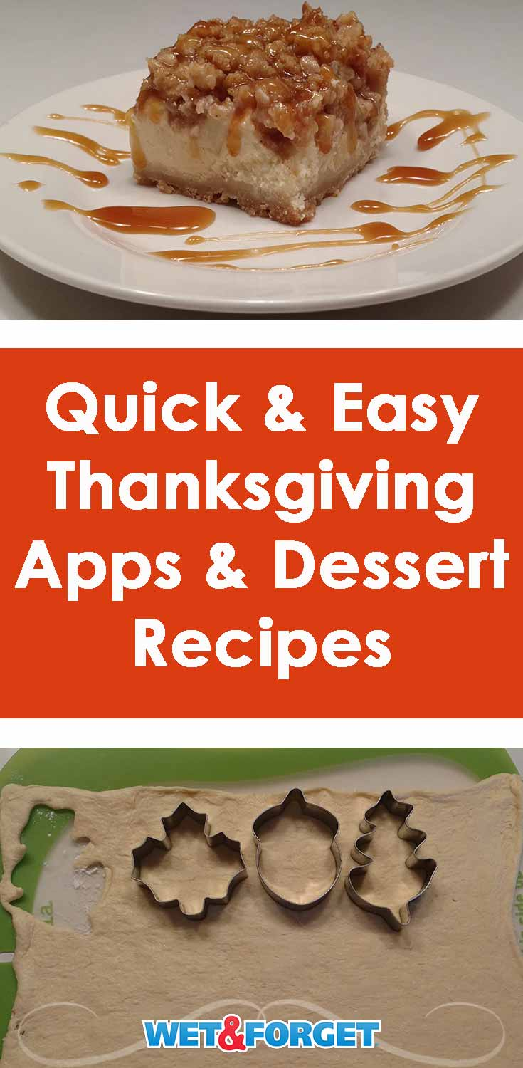 Need a new recipe this Thanksgiving? Try out one of our favorite easy appetizer or dessert recipes!