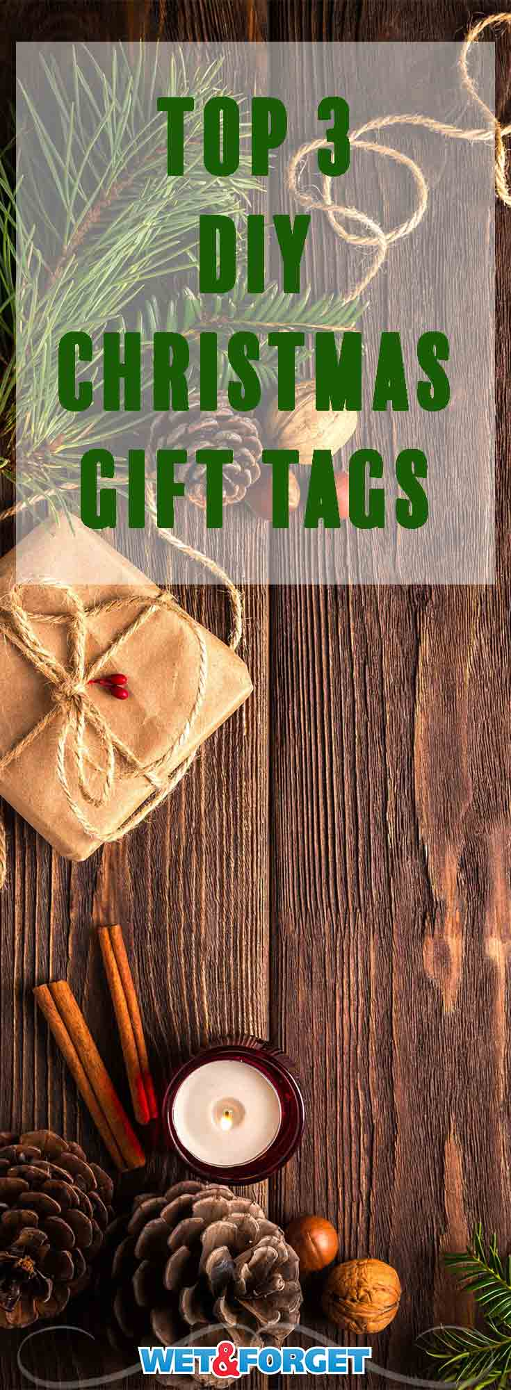 Make your gifts more personal by crafting these easy DIY gift tags!