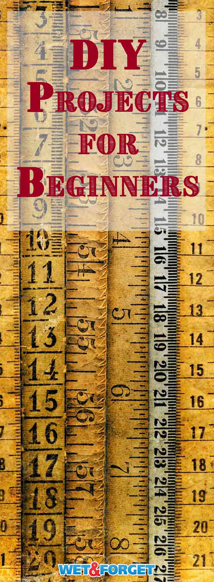 Have you always wanted to become a DIYer but didn't know where to start? Use one of our favorite easy DIY projects for beginners.