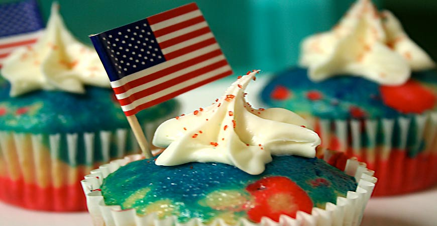 Make this patriotic treat for your 4th of July celebration!