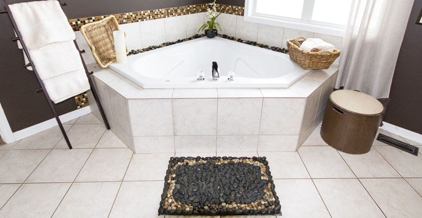 How to remove rubber mat stains from bathtub image for How to get hair dye off bathroom tiles