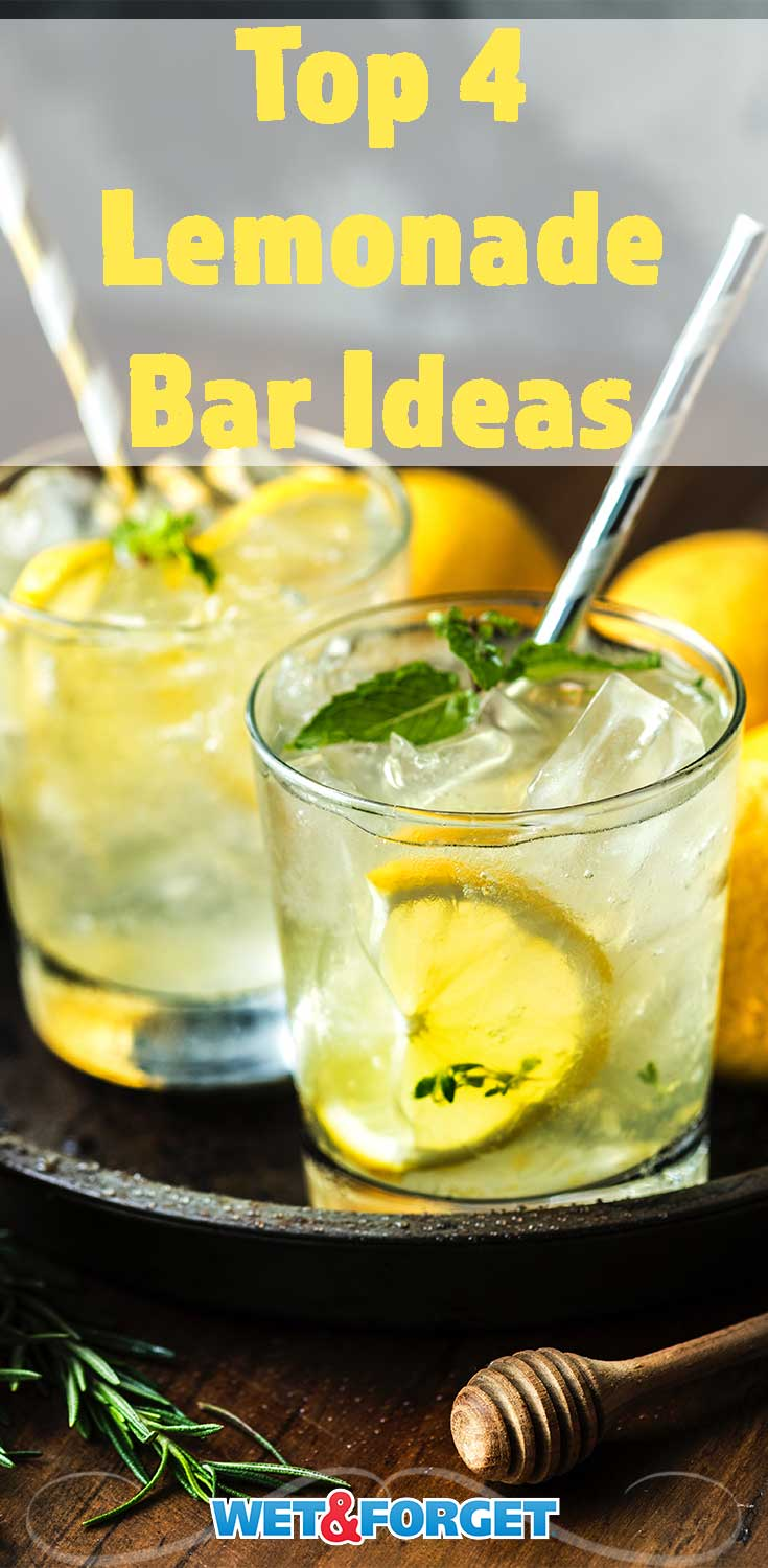 Stay refreshed this summer with these clever and delicious lemonade bar ideas!