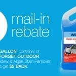 Rebate Time! Get $5 Back on Wet & Forget Outdoor 1 Gallon Container.
