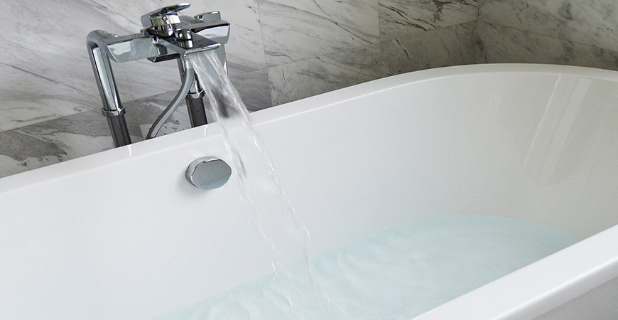 Bathroom transformations can be as simple as relining your tub.