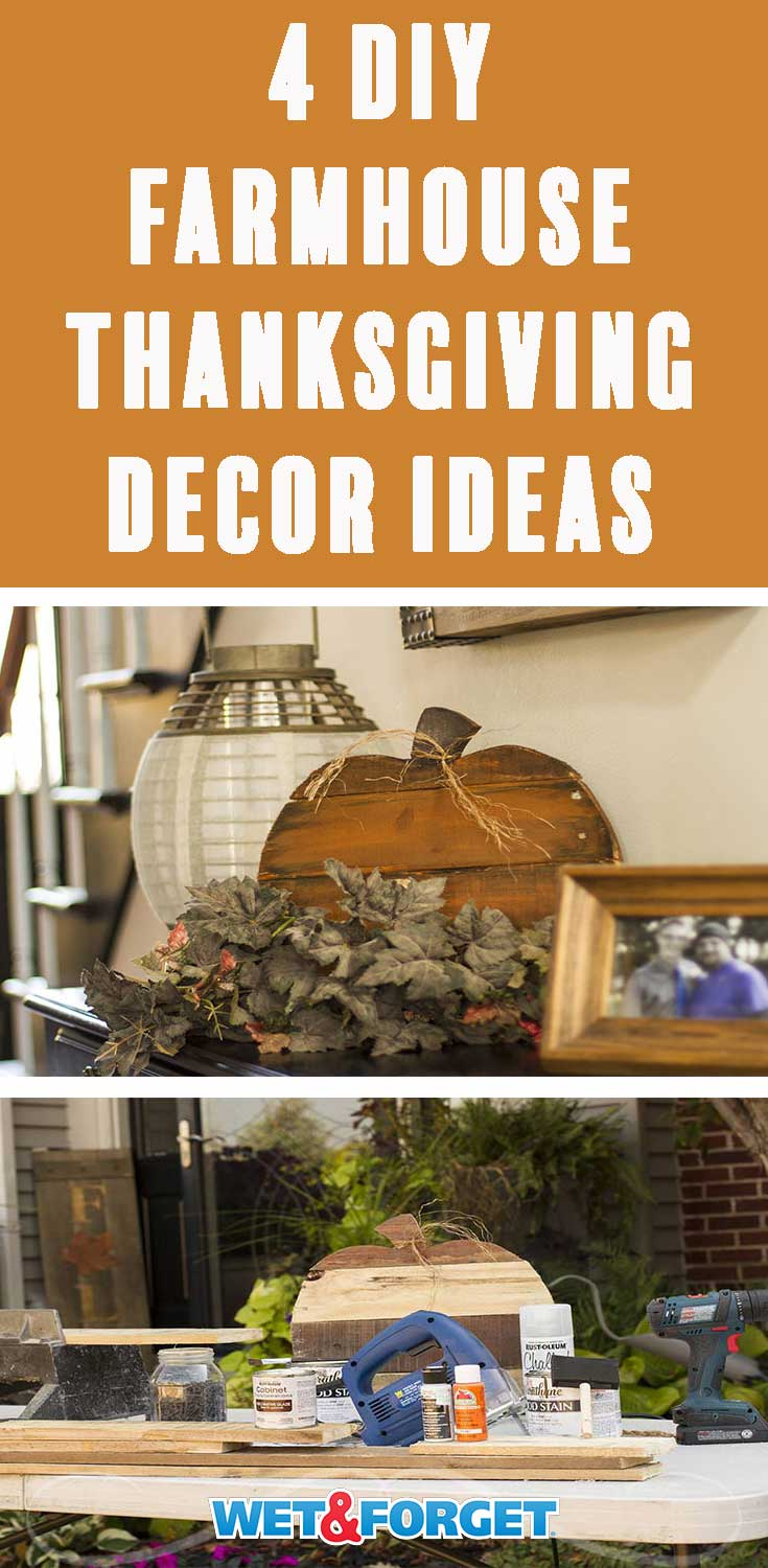 Get your home ready for the Thanksgiving holiday with these unique DIY farmhouse decor ideas!